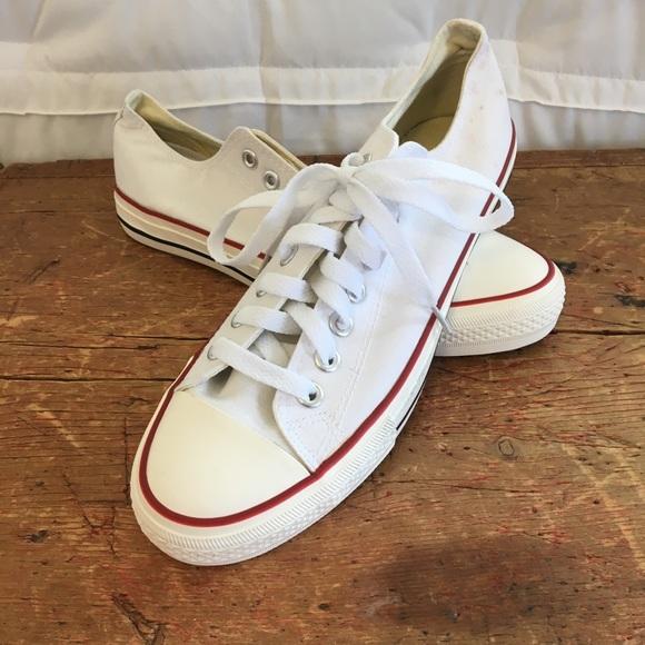 Converse Shoes - Brand New White Converse Size 10 05520bdac